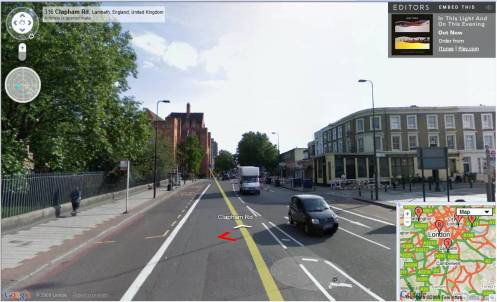 Editors street view